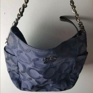 Coach blue signature c bag